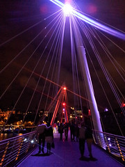 Criss-Crossing the Bridge