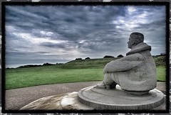 Watching For Danger (C Pallace) Tags: sea england france danger corner germany out kent memorial skies remember looking britain nazi battle clear 3000 dover heroic raf pilots hurrican died bombers crews folkestone hellfire thefew spitfires capellefern