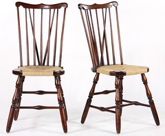 56. Pair of Windsor Side Chairs