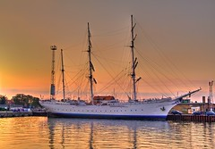 Gorch Fock 1 / Explore (matt.koerner1) Tags: sunset germany deutschland sonnenuntergang pentax matthias hdr stralsund segelschiff mecklenburgvorpommern k7 krner sailingvessel gorchfock1 sigma18250 mattkoerner1