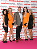 Mick Norcross and the Sugar Hut Honeys The Inside Soap Awards 2012 held at One Marylebone London, England