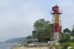 Conover Beacon (Larry Myhre) Tags: lighthouse newjersey leonardo rangelight conoverbeacon nyctrivtjune2016