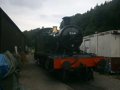 5541 @ Norchard (ianjpoole) Tags: great western railways prairie class 5541 dean forest railway flour mill gala