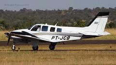 PT-JCB=HAWKER BEECHCRAFT Modelo: G58 (wellingtonfrancisco) Tags: ptjcbhawker beechcraft modelo g58 aeroclube ituiutabamg