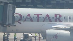 Departure-Hamad International Doha (Qatar) (VHS Channel) Tags: hamadinternationalairport doha video 2016 april qatarairways qatar airport airline travel flight london vhschannel to416 enroutetoronto416 qr1