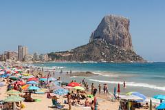 El Pen y la Playa (rafa.esteve) Tags: alacant alicante calp calpe espaa landscape mar naturaleza nature paisaje rock sea spain