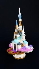 Micro château (Alego37) Tags: lego microscale miniscale princesse château mini