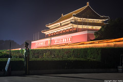 Puerta de Tiananmen (cvielba) Tags: tiananmen china ciudadprohibida pekin plaza puerta