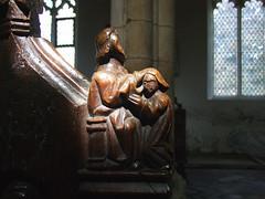 seven sacraments: Confirmation (15th Century) (Simon_K) Tags: wiggenhall st germain germans norfolk eastanglia church churches