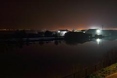 High tide (Lutra56) Tags: rivertrent gainsborough hightide landscape scenery longexposure nightshot floodwatch