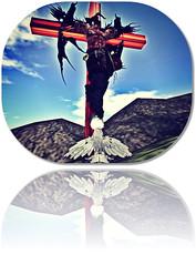 Dark Pleasures (Lethal Lexi) Tags: demon angel secondlife sacrifice worship avatar