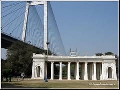 6386 - Prinsep  Ghat, Kolkata (chandrasekaran a) Tags: prinsepghat kolkata westbengal monuments bridge vidyasagarbridge canon