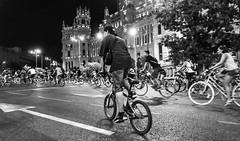 Bicicrtica B&N (cristinagarzonq) Tags: bicicritica bicicriticamadrid bikelife biciesvida alegriaentretuspiernas ciclismo ciclismourbano cycling bikes bicis bn bw