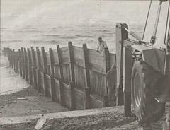 Sandy Point Erosion 1991 (steve 2001) Tags: hayling eastoke hampshire groyne beach sea erosion coast
