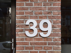 Week 39 (d_t_vos) Tags: 39 thirtynine number week weeks calendar numericcharacter character address streetnumber housenumber weeknumber symbol sign shield weeknumberproject 2016 bricks wall wood door doorframe window windowframe reflection buildings architecture abstract texture text outdoor leeuwarden oostergrachtswal dentist dentalclinics netherlands dickvos dtvos