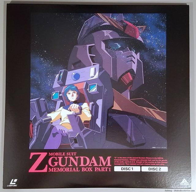 Zeta Gundam Laserdisc Box Set I 5 by Judson Weinsheimer