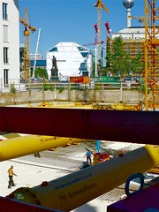 P1190128 Baustelle Berlin APS 2016 (APS Lilienthal) Tags: berlin dieewigebaustelle berlinmitte rohre schlos krne baustelle untergrund diegrndungsarbeiten