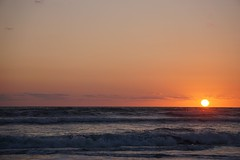 New Smyrna Beach Dawn (09072016) (TaranRampersad) Tags: beach newsmyrnabeach florida sunrise sunset sun ocean seaside outdoors oceanside outside
