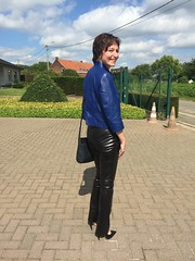 IMG_5711 (valkex1) Tags: black leather pants mature wife