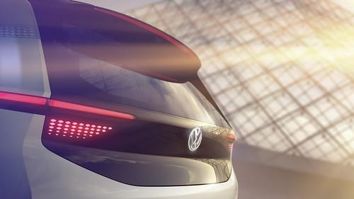 электрический концепт Volkswagen