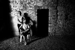Darkroom (Vitor Pina) Tags: streetphotography street photography pretoebranco people moments monochrome man men mulher minimal momentos urban urbano contrast candid rua outdoor portraits portrait portait