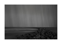Fort-Perch-Storm (John Wells Photography) Tags: bnw black white storm sea defence windmill liverpool new brighton fineartphotography photography