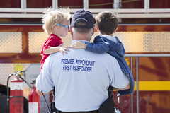 First Responder (stephenisabellemaggie) Tags: townshippers easterntownships firstresponder grandfather firetruck family canon6d canada quebec