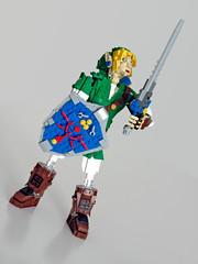 Link Sword skyward (NKubate) Tags: lego ideas link zelda nintendo nkubate hero mastersword