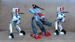 Macross Zentraedi Battlepods (SPARKART!) Tags: macross robotech lego toy mecha anime robot sparkart