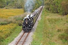 Another Pleasant Valley Saturday: 1 (craigsanders429) Tags: nickelplateroad765 nkp765 nickelplate765 nickelplateroadno765 nickelplateroad nkp767 nickelplate767 nickelplateroad767 cuyahogavalleyscenicrailroad cuyahogavalleynationalpark independenceohio steamlocomotives steamtrains steamexcursions steamtrain steamonthecvsr passengertrains passengercars