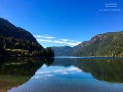Serenity (DetroitDerek Photography ( ALL RIGHTS RESERVED )) Tags: canada britishcolumbia cameronlake nothdr iphone digital 6s water reflection beauty nature outdoors natural september 2016 vacation detroitderek allrightsreserved