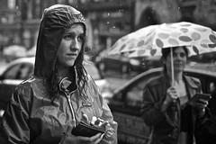 Endurance (martin.mutch) Tags: cuteyoungteengirlwetinlashingrainonstreetpartyfestivalmodelumbrellahoodheadbrunetteblonde