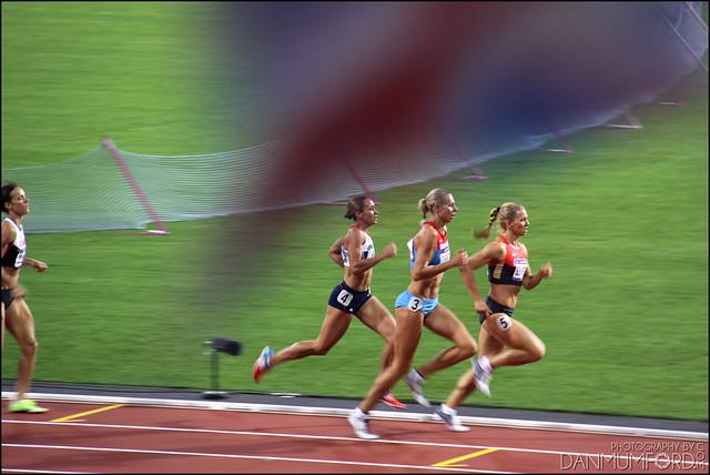 Jessica Ennis, Women's Heptathlon Champion!
