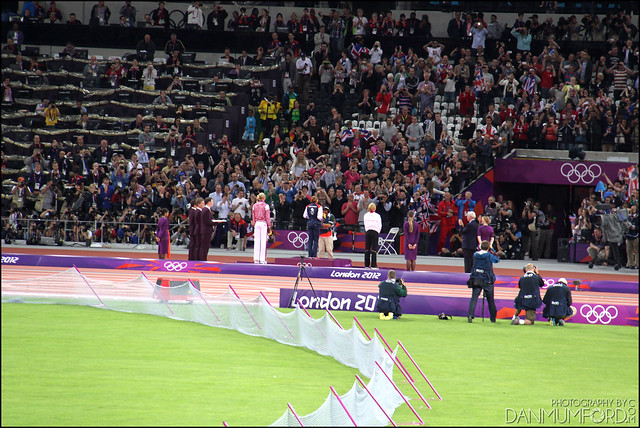 Jessica Ennis Gold Medal Ceremony, Heptathlon Champion!