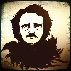 Poe (Mitchypop) Tags: drawing raven edgarallanpoe hipstamatic