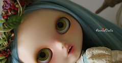 Anniedoll hand paint eyechips for Bluebird.