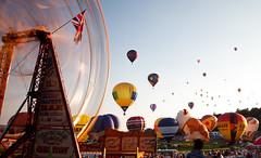 Bristol Balloon Fiesta (Mathew Roberts) Tags: wheel court balloons bristol fiesta balloon ferris ashton avon 2012 bristolballoonfiesta