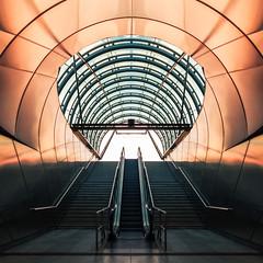 Prag | Hradansk (Philipp Gtze) Tags: station architecture prague metro prag praha symmetry ubahn hradcanska