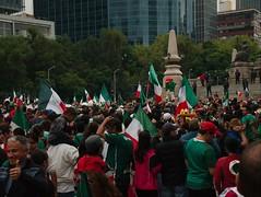 Festejo olmpico (germfy) Tags: city angel mexico gold champion olympus olympic olympics independence reforma futbol olimpiadas 2012 independencia oro campeon olimpico campen elp1