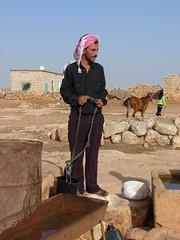 P1000883 - SYRIA - SYRIE -  - PORTRAITS (peguiparis - 4 million visits) Tags: horse water cheval eau desert syria  syrie