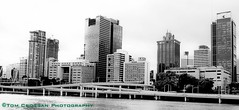 Brisbane skyline, on the Brisbane River, Queensland, Australia 2012 (PROSECMAN) Tags: brisbane queensland brisbaneriver brisbanecityskyline tomcrossanphotography