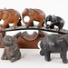 141. Assorted Carved Animals