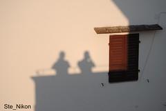 Ombre fiorentine (Ste_Nikon) Tags: muro tramonto ombre finestra firenze luci toscana pisolo buzzina