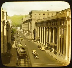Bishop Street - Honolulu (HistoricViews) Tags: honolulu bishopstreet