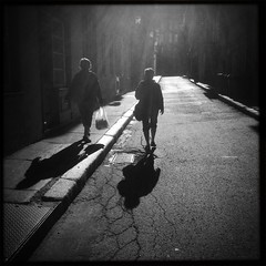 Hipstamatic 46 (Richard Pilon) Tags: street blackandwhite bw quebec candid streetphotography quebeccity iphone iphone4 iphoneography hipstamatic