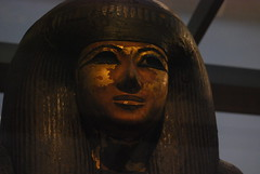 The face of Djedkhonsefankh (konde) Tags: wood art ancient tip museo thebes 22nddynasty thirdintermediateperiod mummycoffin djedkhonsefankh