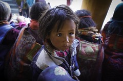 Young girl in Korzok. Ladakh.Jammu kashmir.India (courregesg) Tags: india ladakh jammu kashmir himalaya korzok portrait woman girl people ethnic ethnology
