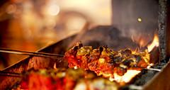 Chicken Tikka (mallikagurnani) Tags: india 50mm eid 50mm14 mumbai iftar ramzan fixedlens primelens mohammadaliroad niftyfifty