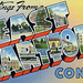 Greetings from East Hartford, Connecticut - Large Letter Postcard