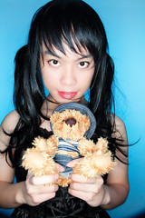 blue hawaiian 006 (NM.San) Tags: bear blue boy black cute dress sweet cd lolita hawaiian egl lollipop mana crossdress  cuteboy blackdress bluehawaiian visualkei gothiclolita crossplay sweetlolita    brolita mrnightmare